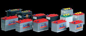 semi-traction, Meghajtó akkumulátor blokkok (munka akkumulátor)
